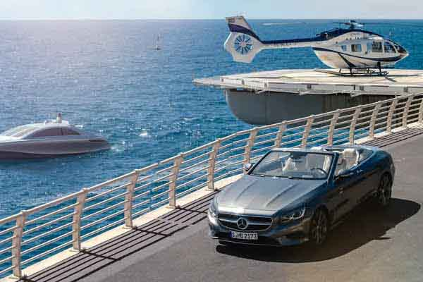 MERCEDES-BENZ TRINITY STYLE YACHT AIRBUS S KLASSE