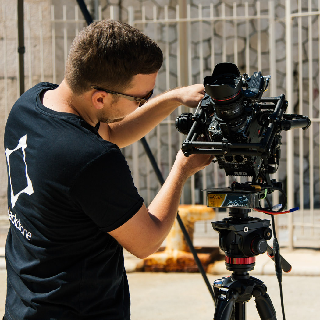 RED EPIC Dragon 6K Carbon Edition mit Freefly Systems MōVI M15 Brushless Gimbal Einstellarbeiten Rico Nowara